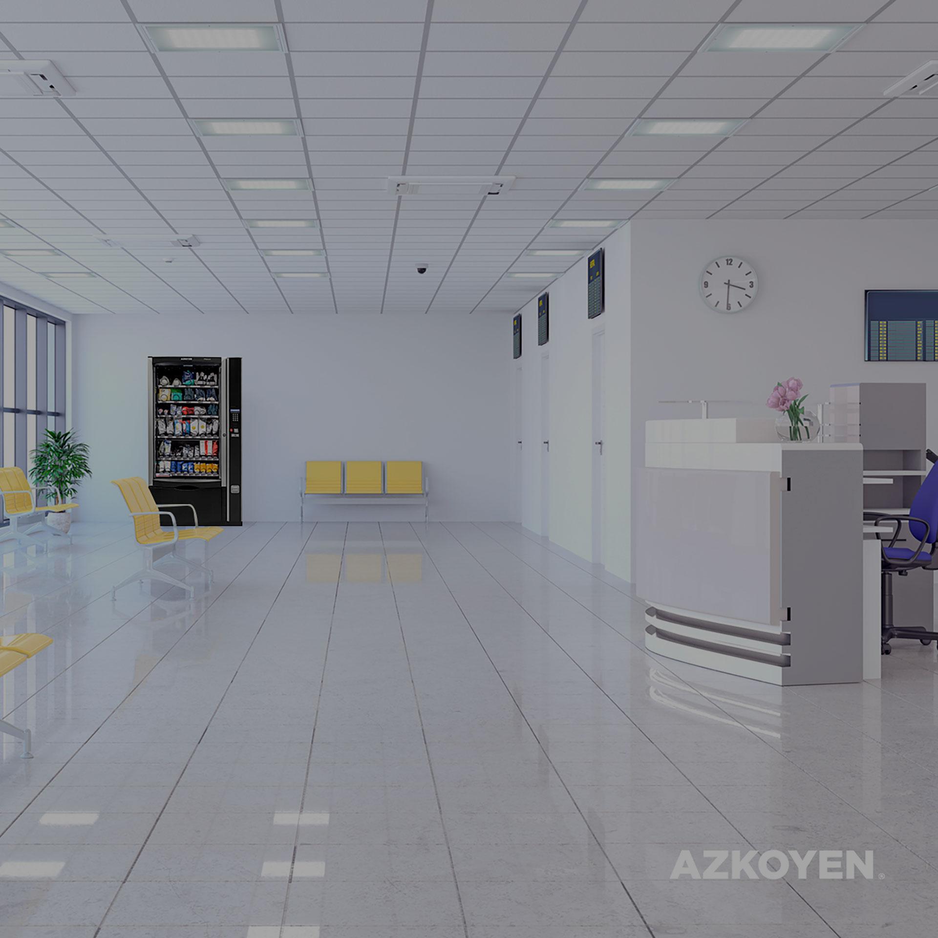 Die Azkoyen arbeitet mit der bei der Verteilung kostenloser persönlicher Schutzausrüstung durch ihre Automaten zusammen