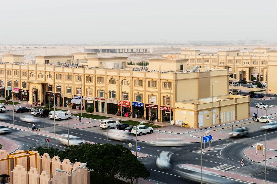 Strategische Standorte in Katar, die mit Automaten vonn Azkoyen ausgestattet sind