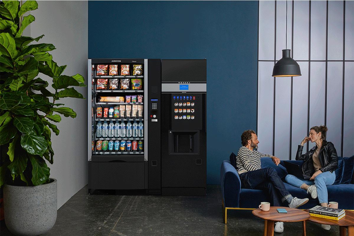 Wir verbessern die Energieeffizienz und reduzieren die Umweltauswirkungen unserer Kühlautomaten