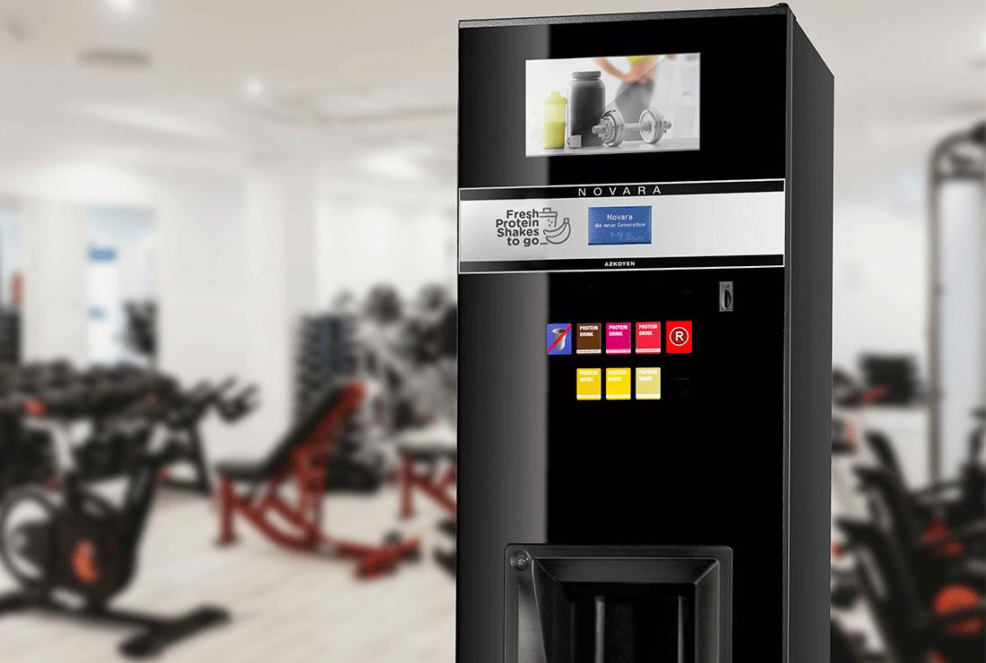 Die Azkoyen schließt sich mit dem deutschen Unternehmen Trugge zusammen, um die innovativsten Verkaufsautomaten in europäische Fitnessstudios zu bringen